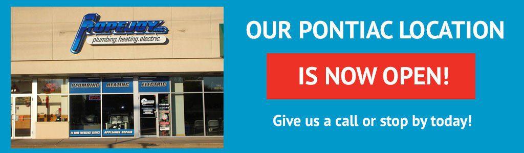 NEW Pontiac location