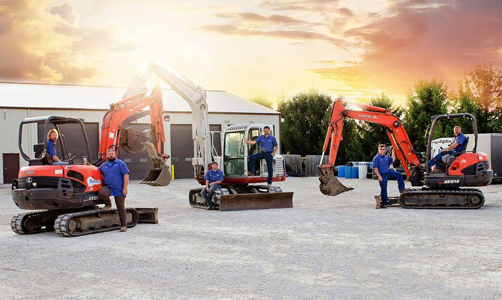 Excavating Service Team